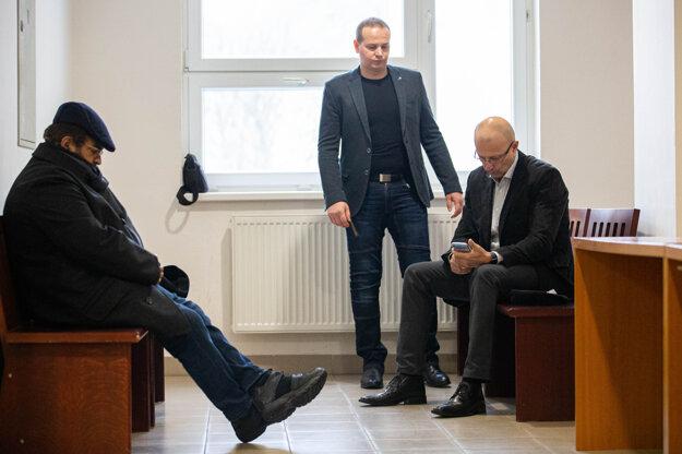 Jozef Dučák, Štefan Mlynarčík, Miroslav Kriak.