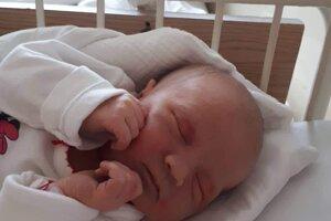 Hana Piláthyová (3940 g, 51 cm) sa narodila 2. januára Zuzane a Marekovi z Trenčianskeho Jastrabia.