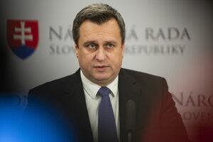 Predseda parlamentu a šéf SNS Andrej Danko.