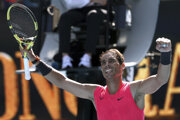 Rafael Nadal v 1. kole Australian Open 2020.
