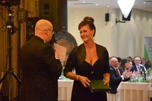 Zuzana Lábajová bola ocenená v kategórii Tréner mládeže.