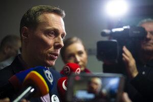 Novinár Marek Vagovič na súde.