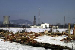 Areál bývalého Chemka Strážske.