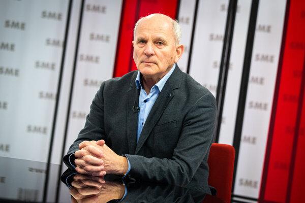František Mikloško v relácii Rozhovory ZKH.