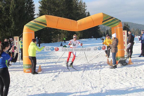 Mário Košút z Triatlon teamu Vavrečka ovládol spoločné majstrovstvá Slovenska i Česka.