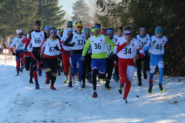 Majstrovstvá Slovenska v zimnom triatlone sa už pravidelne konajú na Orave.
