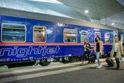 Nočný vlak od rakúskych železníc