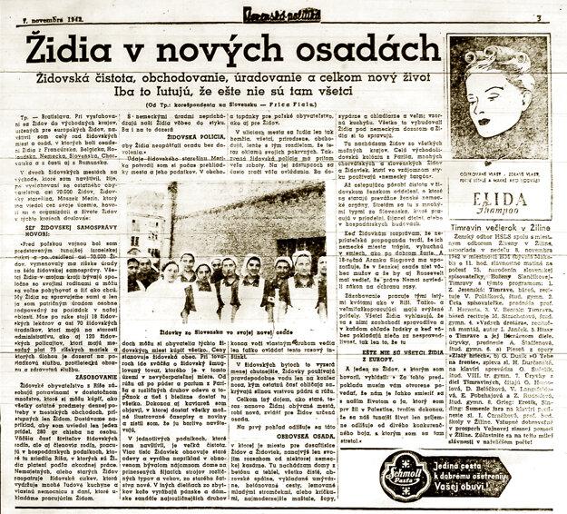 Zvrátený fejk zo slovenskej tlače.