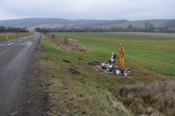 Úsek, na ktorom sa nehoda stala, medzi obcami Slovenská Volová a Ohradzany.