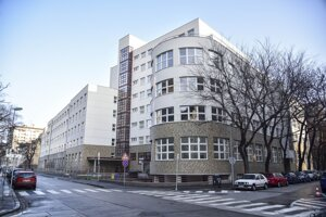 Bytový komplex Bezručova Residence po rekonštrukcii.