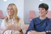 Gwyneth Paltrow a Elise Loehnen v dokumente Goop Lab.