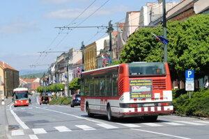 Mestská hromadná doprava v Prešove.