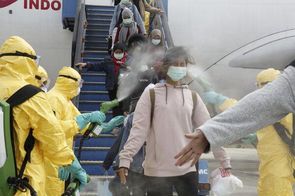 Koronavírus sa šíri z Číny.