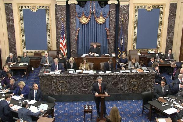 Senát by mal hlasovať v stredu o obvineniach zo zneužitia právomocí a pohŕdania Kongresom.