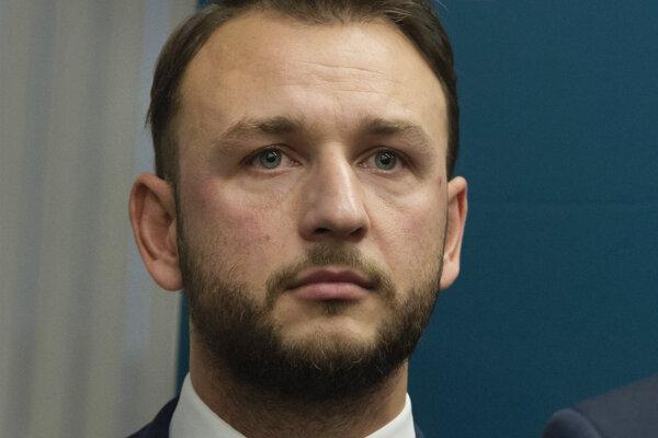Vedúci úradu vlády Matúš Šutaj Eštok.