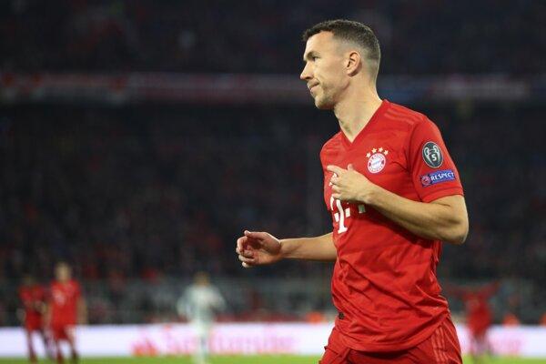 Ivan Perišič v drese Bayernu.