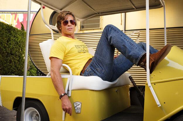 Brad Pitt vo filme Vtedy v Hollywoode.
