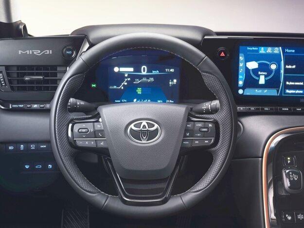 Vodič má pred sebou displeje aj s voliteľnou prezentáciou údajov.