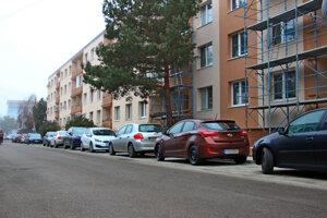 Bernoláková ulica v Malackách.