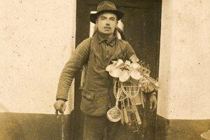 Drotár Ján Tabačár, foto pochádza približne z roku 1920.