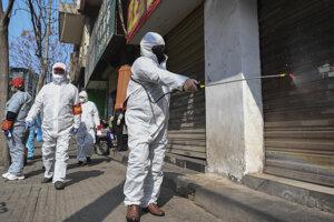 Opatrenia proti šíreniu vírusu v Číne.