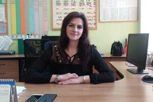 Riaditeľka Základnej školy s materskou školou v Starej Bystrici