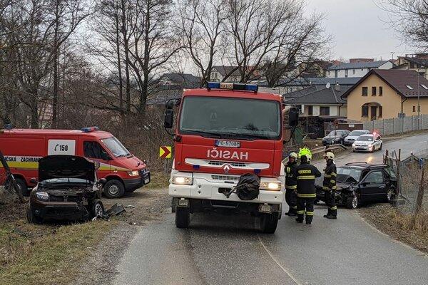 Nehoda sa stala v Teriakovciach v smere na Prešov.