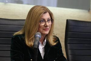 Ministerka pôdohospodárstva a rozvoja vidieka Gabriela Matečná.