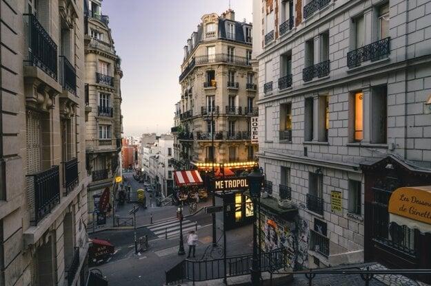 Ulice Montmartre