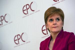 Škótska premiérka Nicola Sturgeonová.