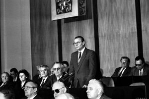 Napriek pádu socializmu sa stal predsedom SNR vtedajší komunista Rudolf Schuster