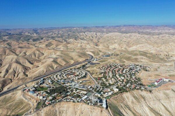 Židovská osada Mitzpe Yeriho.