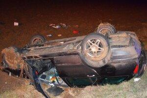 Nehoda v Nitrici.
