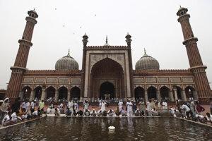 Ilustračné foto - veľká mešita Džama Masdžíd v Dillí.