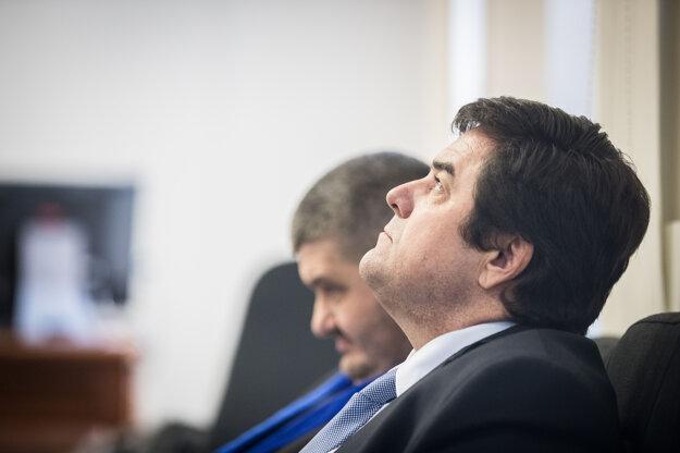 Marian Kočner na súde v kauze zmeniek TV Markíza.
