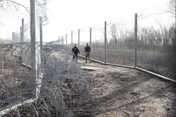 Srbsko-maďarská hranica.