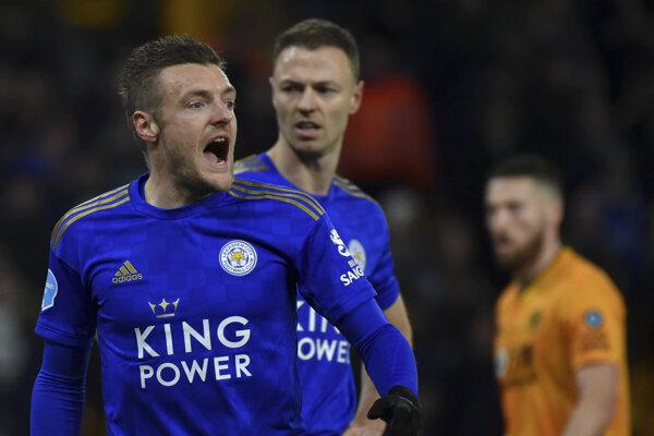 Jamie Vardy z Leicester City.