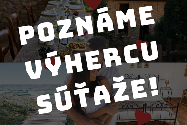 Poznáme výhercu súťaže o pobyt v Toskánsku!