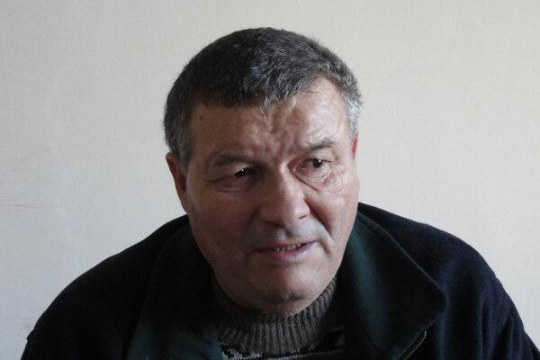 Ján Búlik z Dobrej Nivy.