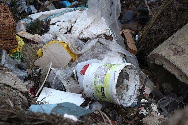 Odpad pri Slanskom Novom Meste.