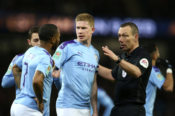 Hráči Manchesteru City.