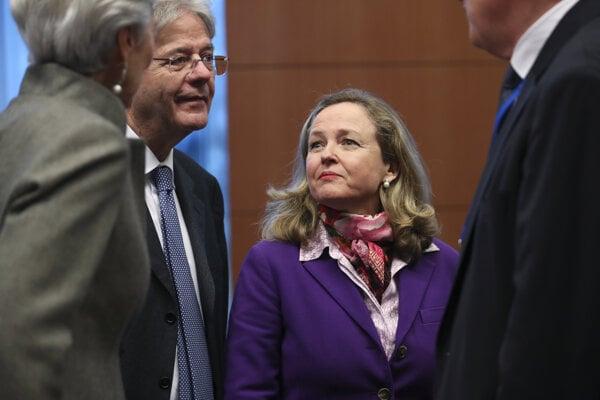 Španielska ministerka hospodárska Nadia Calvinová.