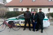 Senickí policajti vypátrali ukradnutý bicykel.