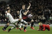 Momentka zo zápasu Tottenham - Lipsko.