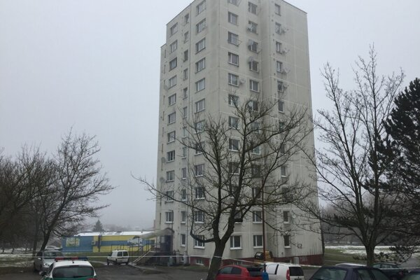 Bytový dom na ul. Pod Papierňou v Bardejove.