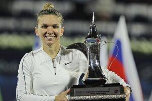 Simona Halepová vyhrala turnaj WTA v Dubaji 2020.