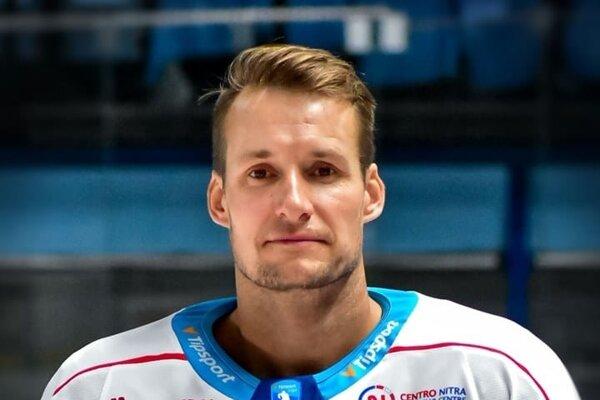 Kapitán HK Nitra Branislav Mezei.
