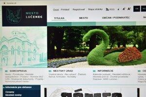 ilustračné foto - internetová stránka mesta Lučenec