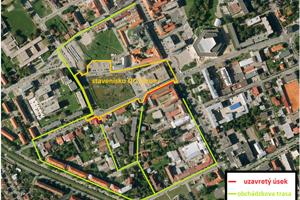 Dočasné koridory otvoria po uložení pochôdznych vrstiev chodníkov a dovolí to charakter stavebných prác.