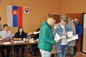 Voľby do NR SR v Oravskej Jasenici.